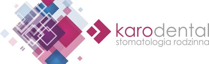 Logo KaroDental z podpisem